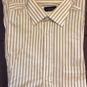 Canali Italian mens dress shirt